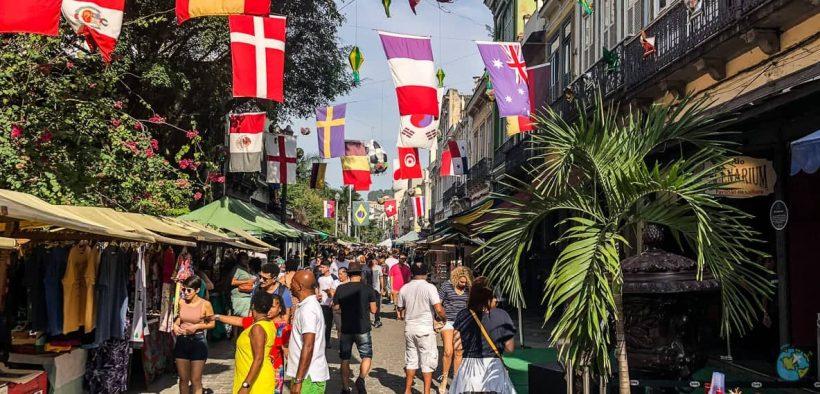 Rua do Lavradio - Feira do Rio Antigo